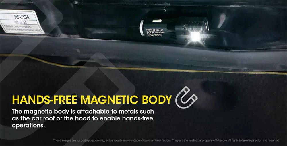 2019 nitecore vcl10 car charger flashlight
