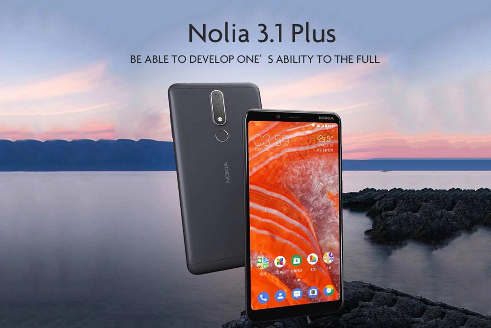 nokia 3.1 plus 4g smartphone