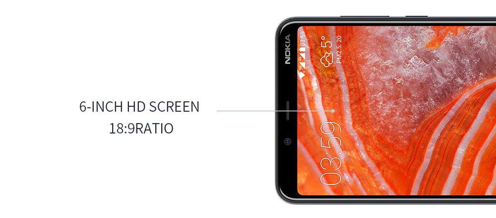 2019 nokia 3.1 plus smartphone