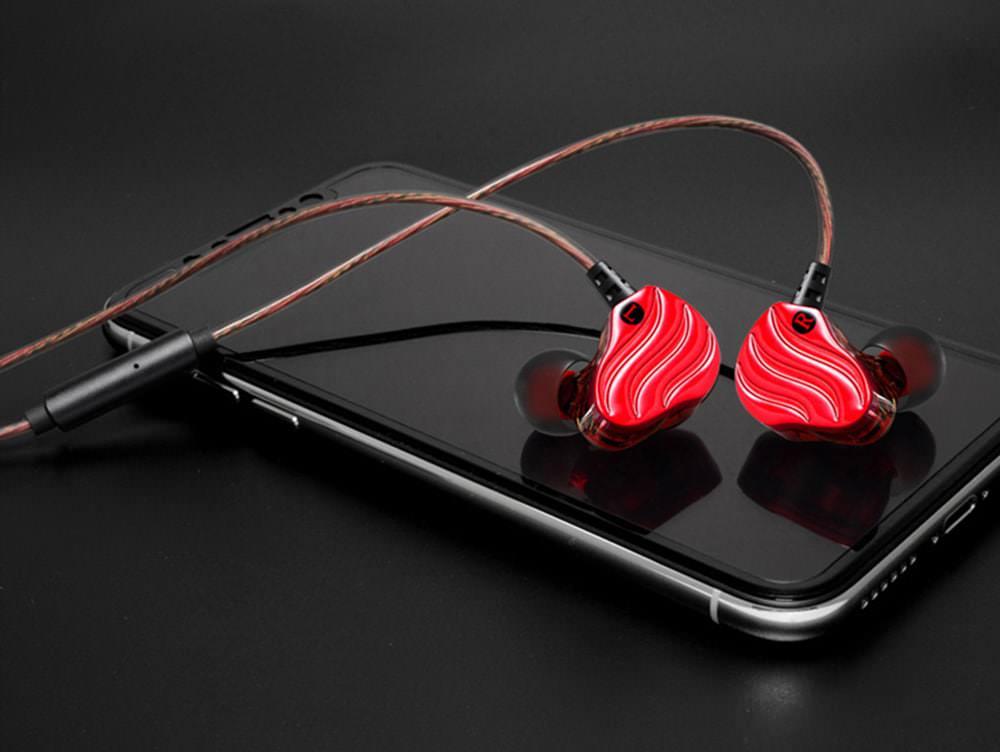 buy qkz kd4 dynamic in-ear earphones