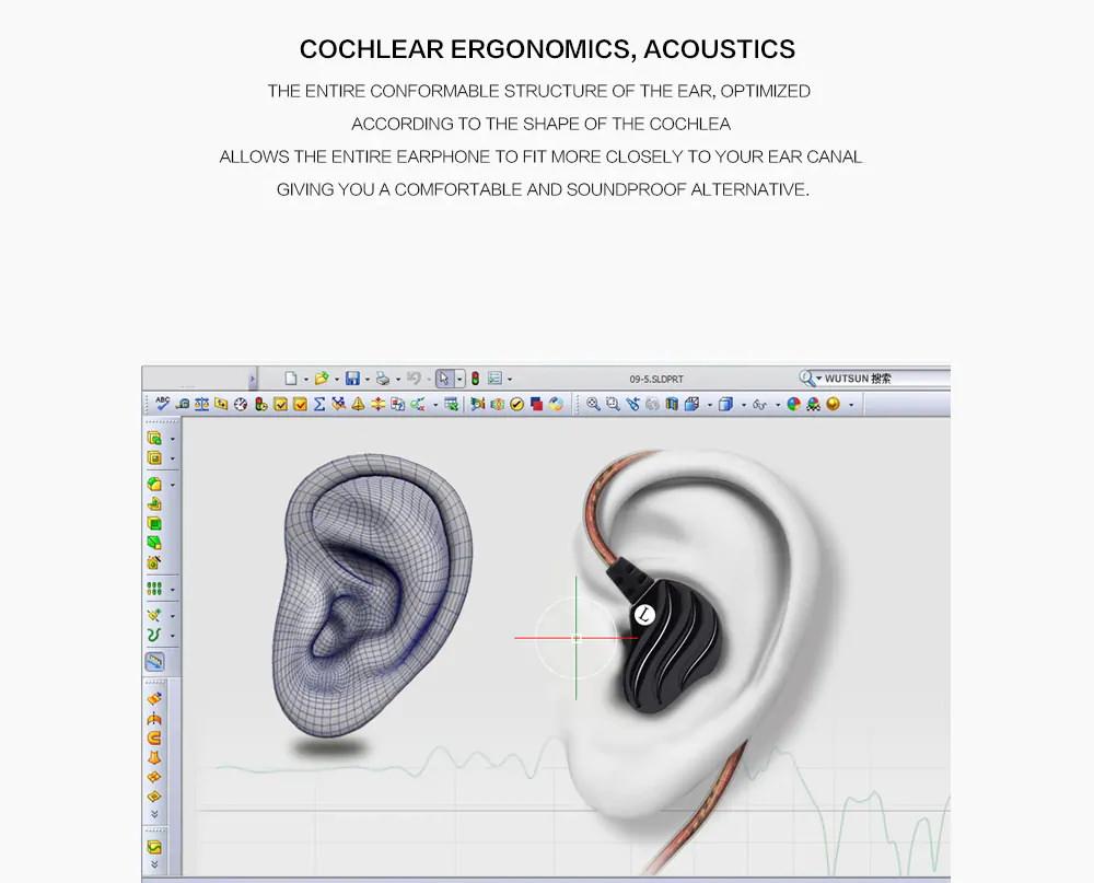buy qkz kd4 wired in-ear earphones