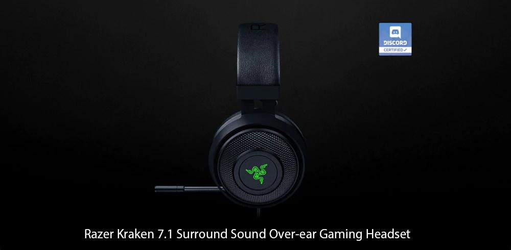 razer kraken surround sound usb gaming headset
