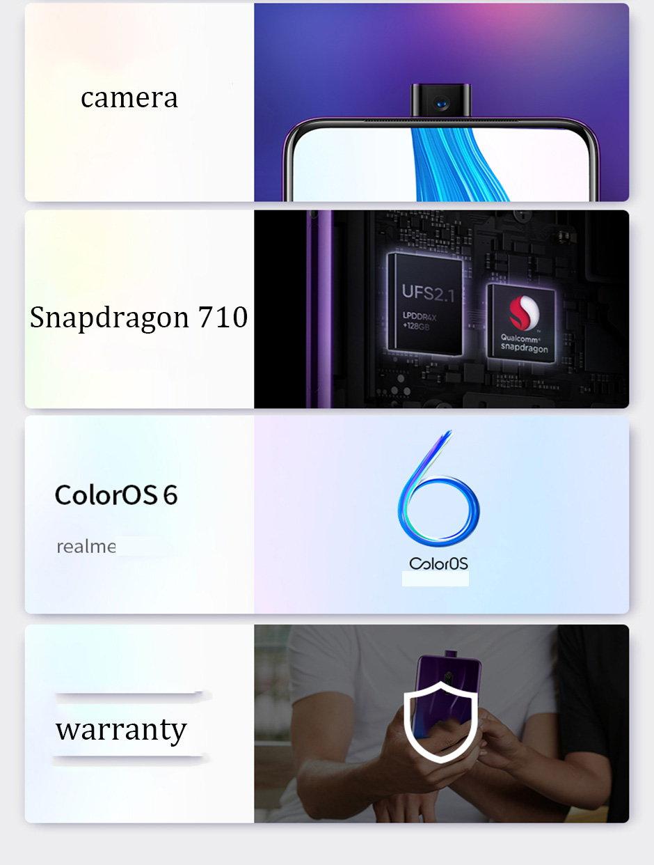 realme x 4g smartphone 6gb/64gb