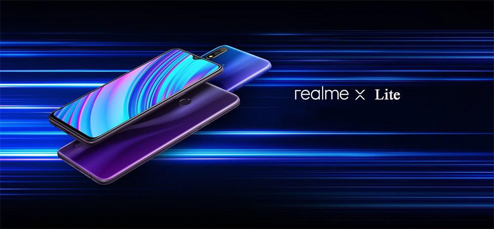 oppo realme x lite 4g smartphone 6gb/128gb