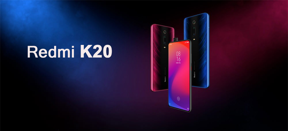 Xiaomi Redmi K20 - cámara frontal pop-up, cámaras posteriores triples de 48MP Redmi-K20-4G-Smartphone-1