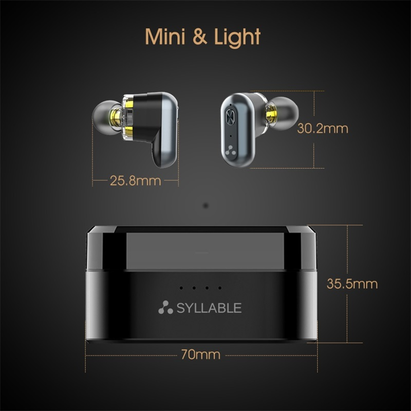 syllable s101 bluetooth 5.0 earphones review