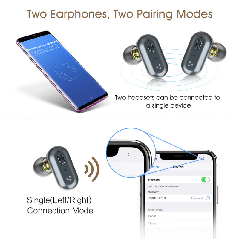 new syllable s101 earphones