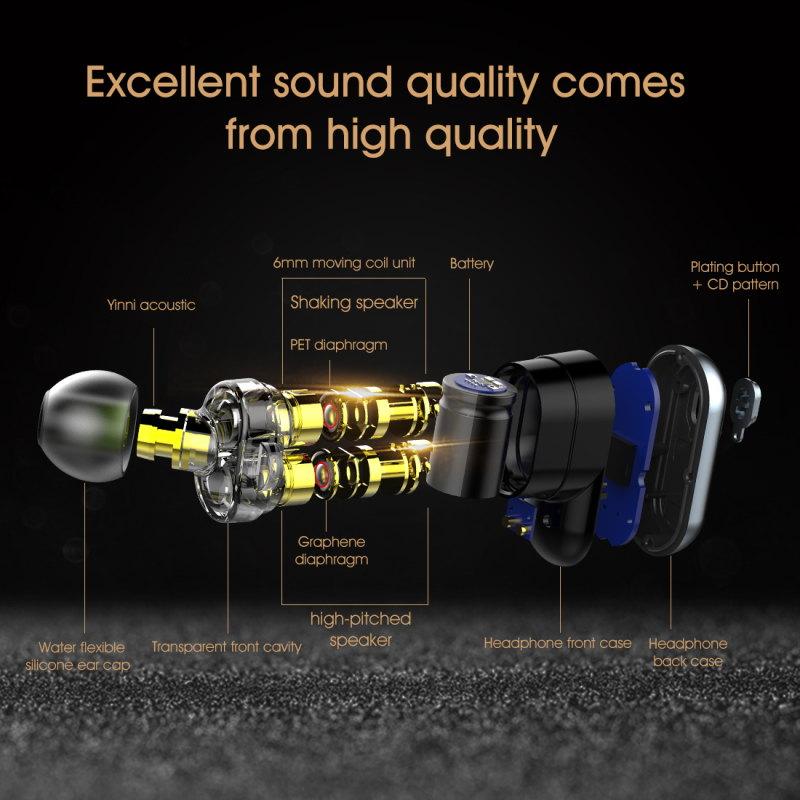 buy syllable s101 bluetooth 5.0 earphones