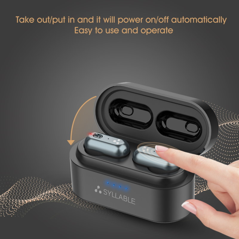 new syllable s101 bluetooth 5.0 earphones