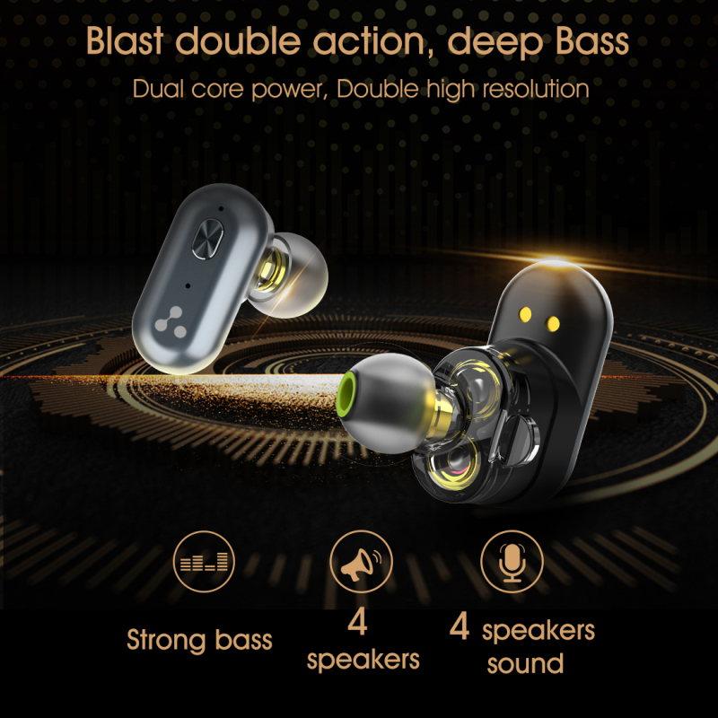 best syllable s101 bluetooth 5.0 earphones