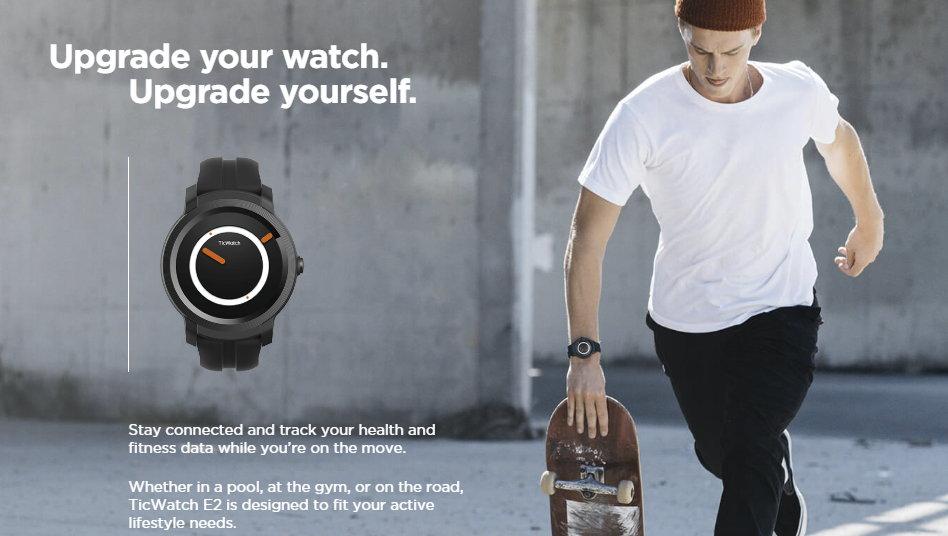 buy ticwatch e2 bluetooth smartwatch