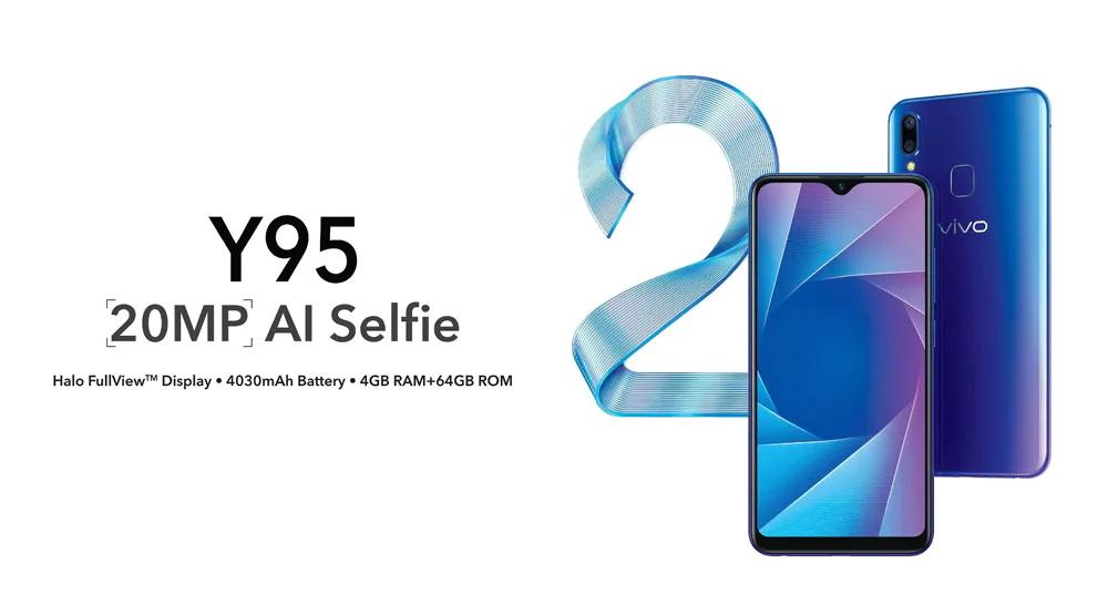 vivo y95 smartphone