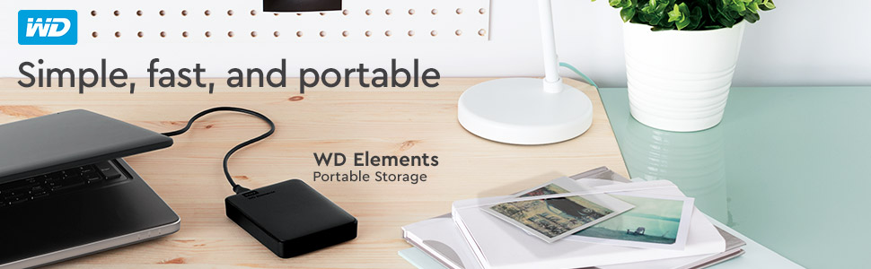WD Elements 2TB disco duro externos - sencillos, rápidos y portátiles WD-Elements-Portable-External-Hard-Drive-1