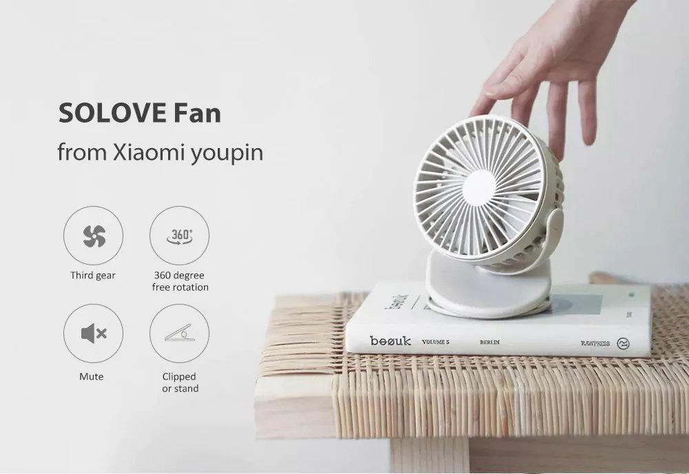 xiaomi solove f3 mini fan