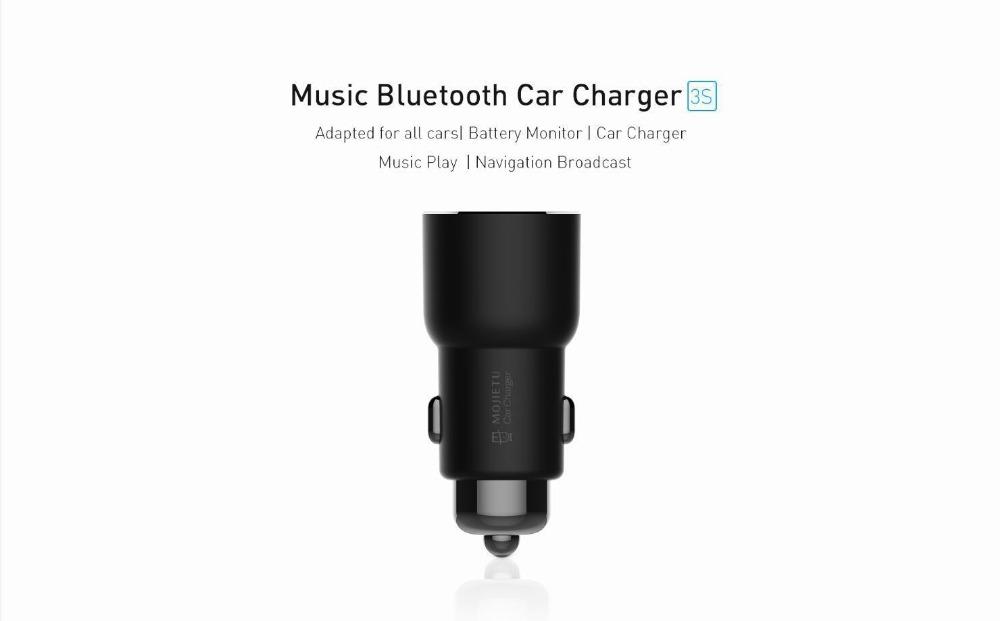xiaomi 3s mojietu music bluetooth car charger