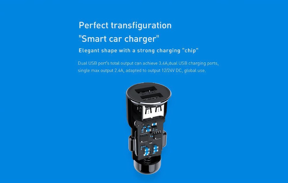 new xiaomi 3s mojietu car charger