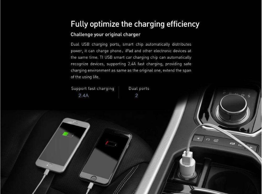 best xiaomi 3s mojietu car charger