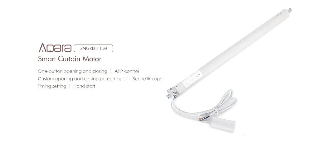 xiaomi aqara zngzdj11lm smart curtain motor