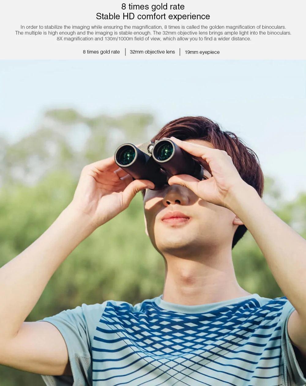 buy xiaomi beebest binocular telescope