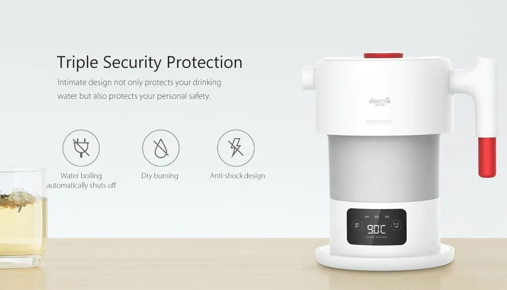 xiaomi deerma dh206 electric kettle for sale