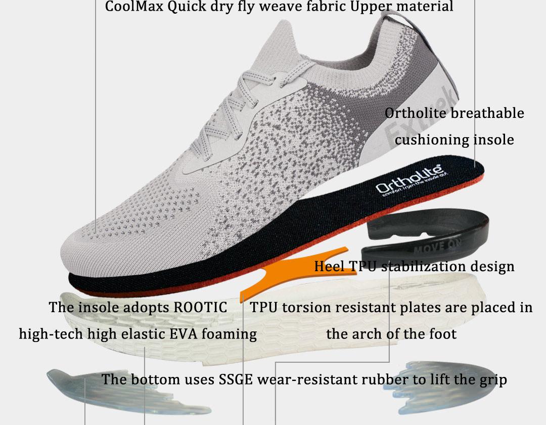 xiaomi eatrek coolmax flynit men sneaker for sale