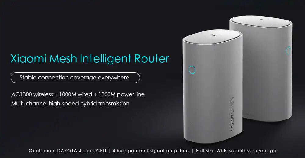 xiaomi mesh smart wifi router