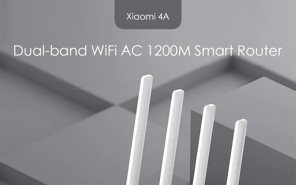 xiaomi mi 4a dual band router