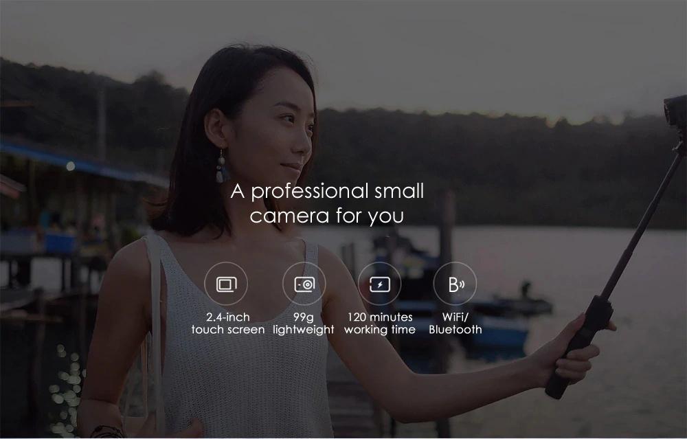 xiaomi mijia mini 4k action camera