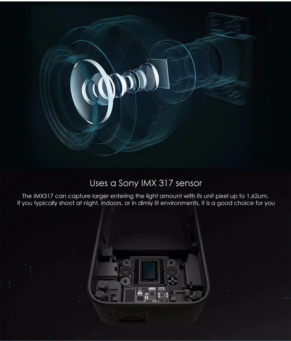 2019 xiaomi mijia mini 4k action camera