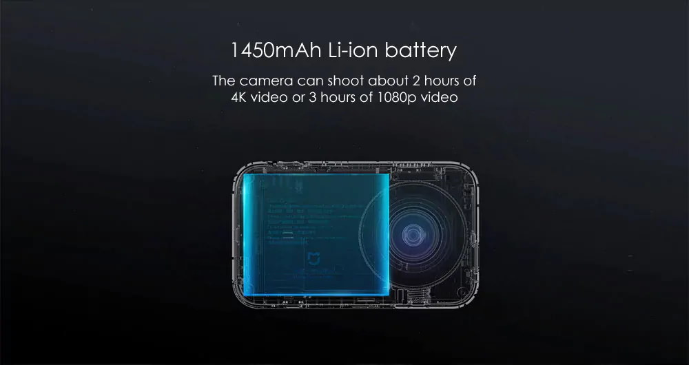 xiaomi mijia mini 4k action camera for sale