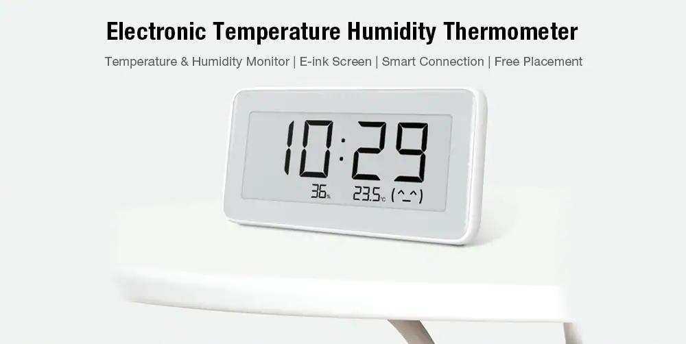 xiaomi mijia temperature humidity monitoring meter