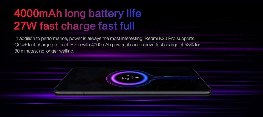 best xiaomi redmi k20 pro smartphone 6gb/64gb