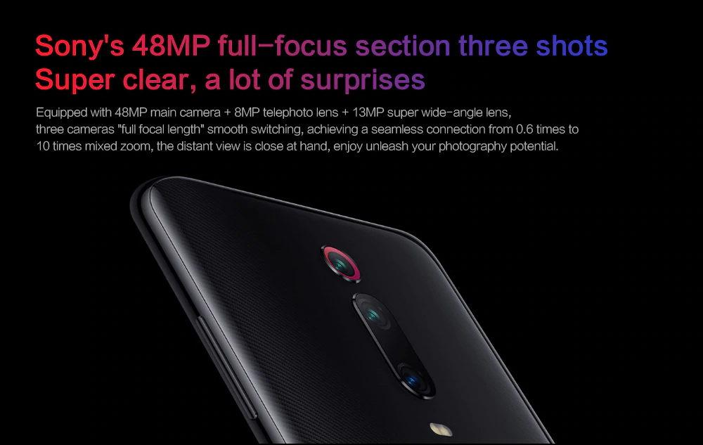 2019 xiaomi redmi k20 pro smartphone 6gb/128gb