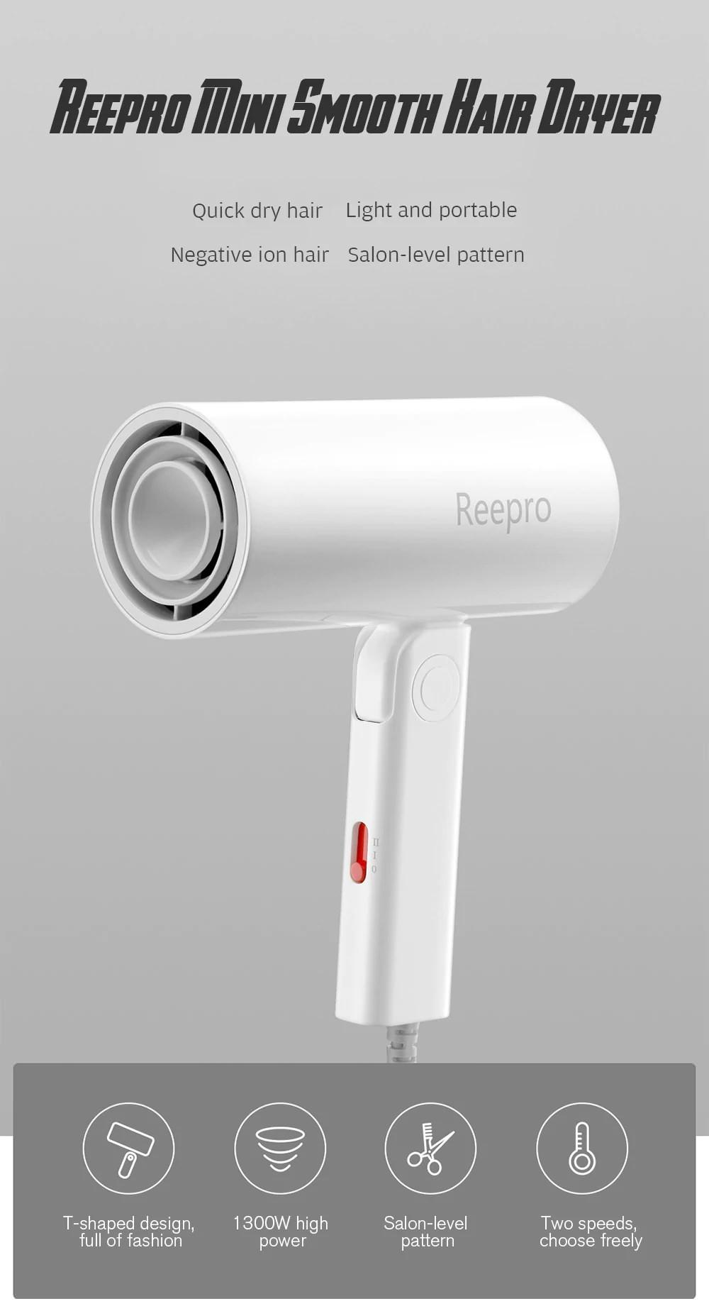 xiaomi reepro rp-hc04 mini hair dryer