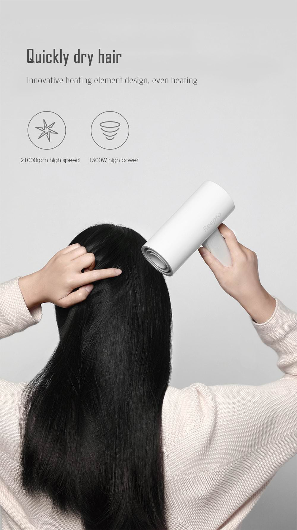 reepro rp-hc04 mini hair dryer
