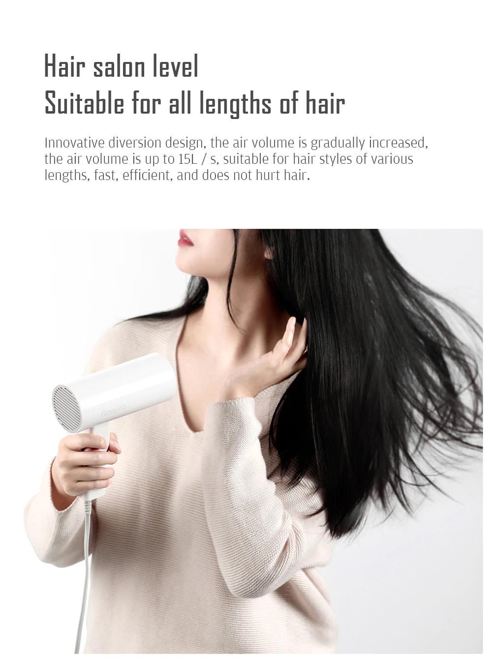 buy xiaomi reepro rp-hc04 mini hair dryer