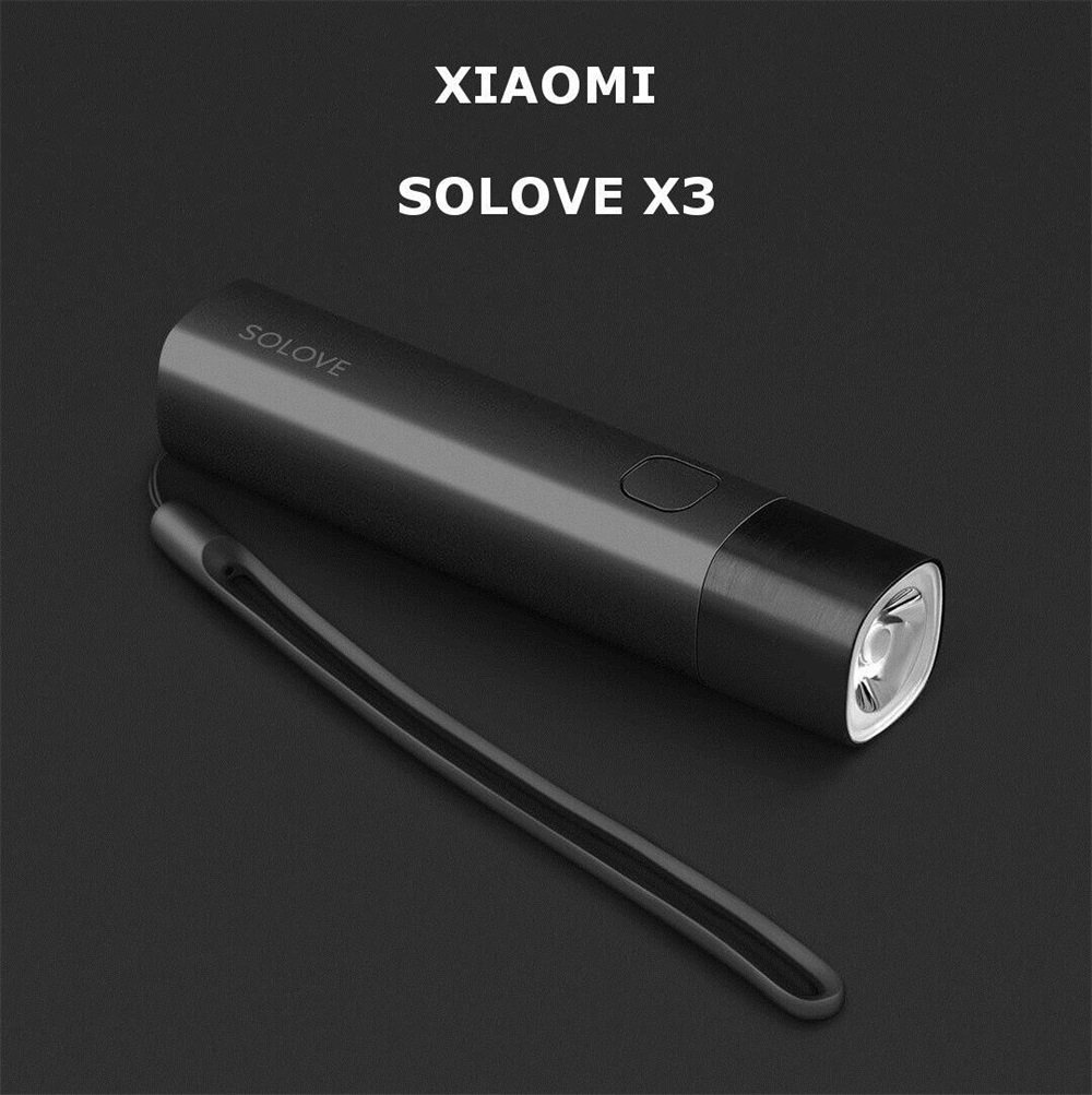 xiaomi solove x3 flashlight