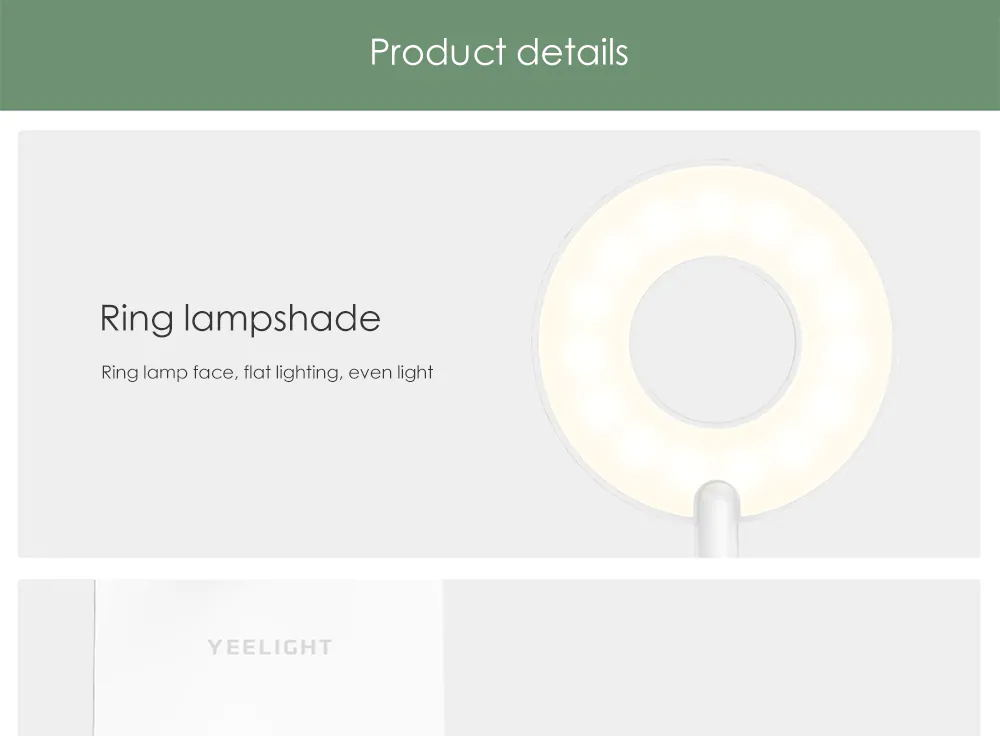 buy xiaomi yeelight 5w led table lamp
