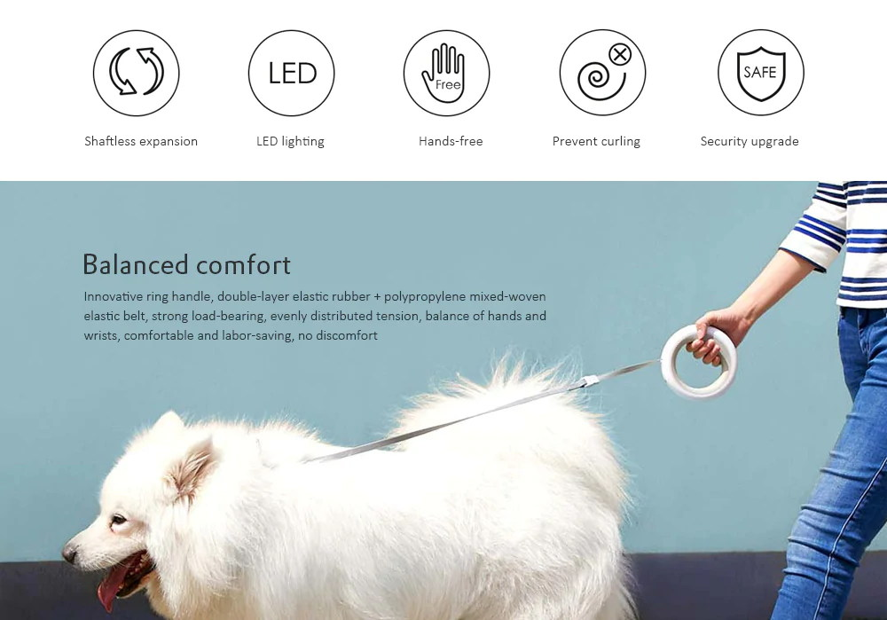 xiaomi ms0030001 pet traction rope