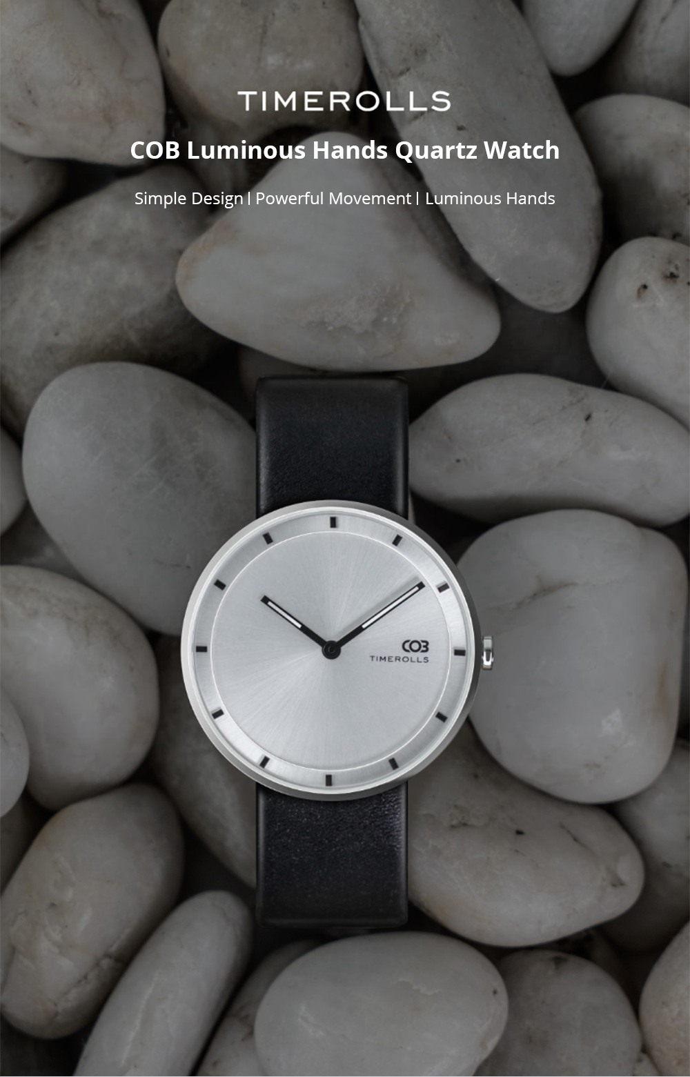 Reloj de cuarzo Xiaomi Youpin TIMEROLLS COB - la belleza del diseño minimalista Xiaomi-Youpin-TIMEROLLS-COB-Quartz-Watch-1