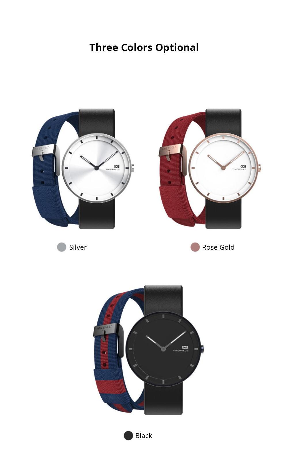 2019 xiaomi youpin timerolls cob quartz watch