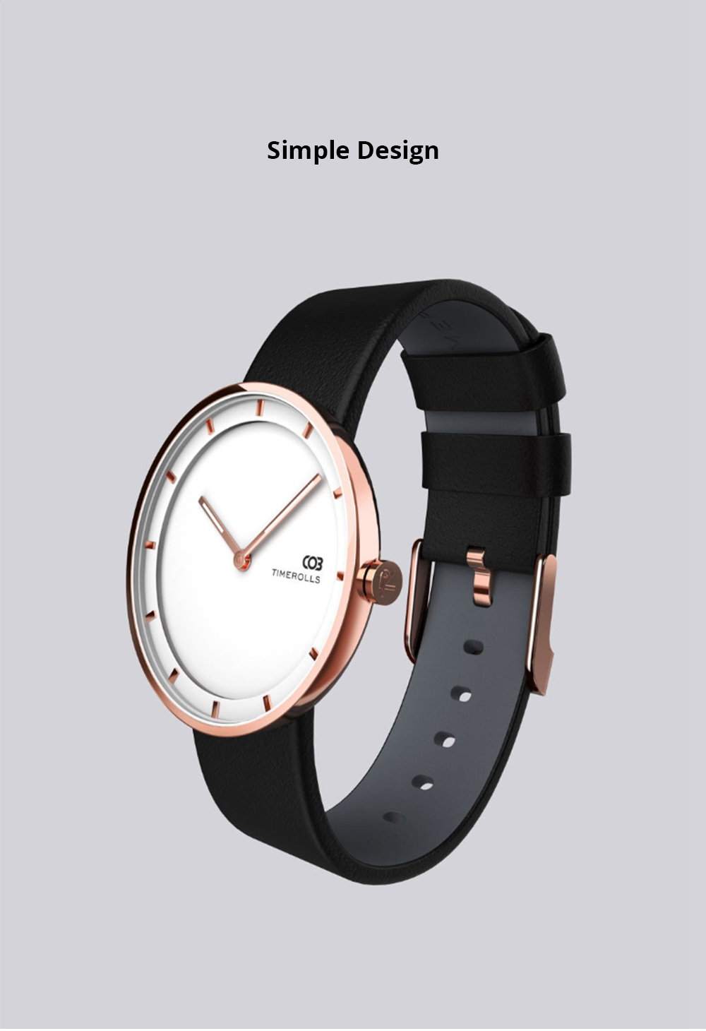 buy xiaomi youpin timerolls cob adwq0118 quartz watch