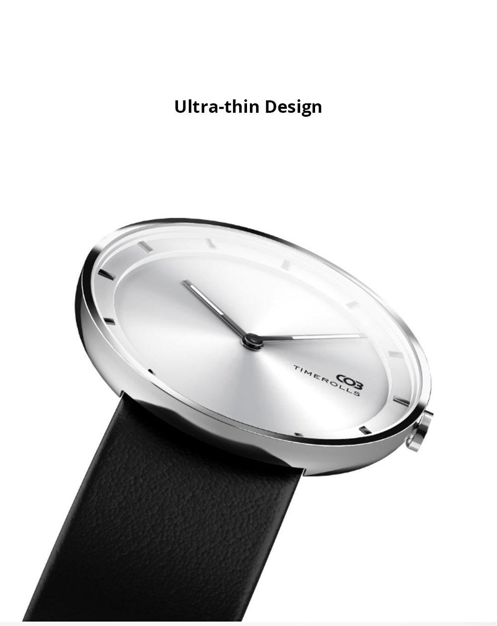 new xiaomi youpin timerolls cob adwq0118 quartz watch