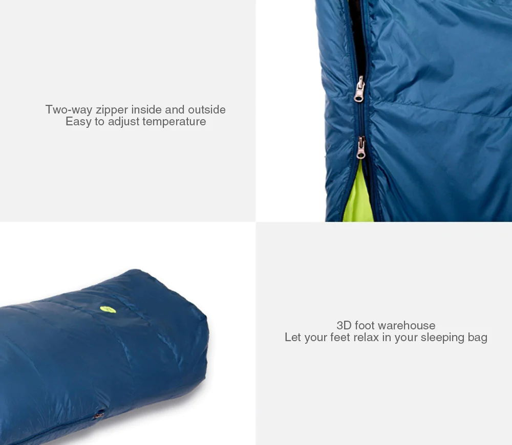 xiaomi zaofeng sleeping bag review