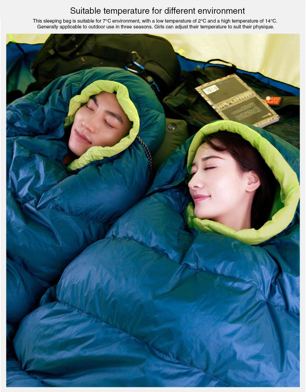 new zaofeng sleeping bag