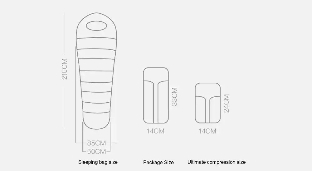 zaofeng sleeping bag online