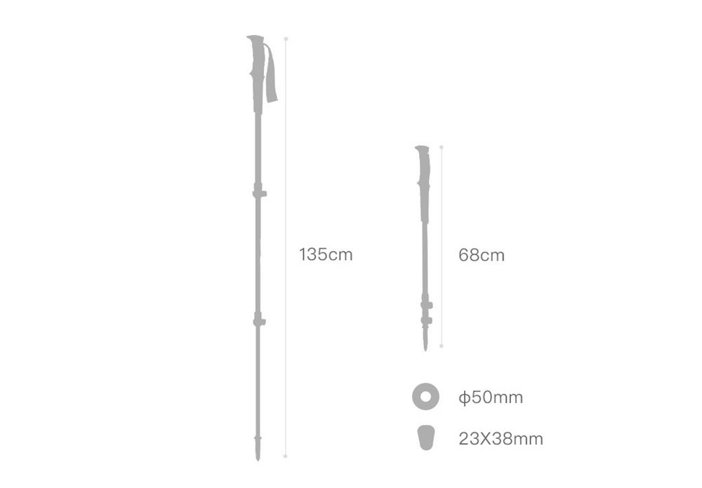 xiaomi zaofeng trekking pole review