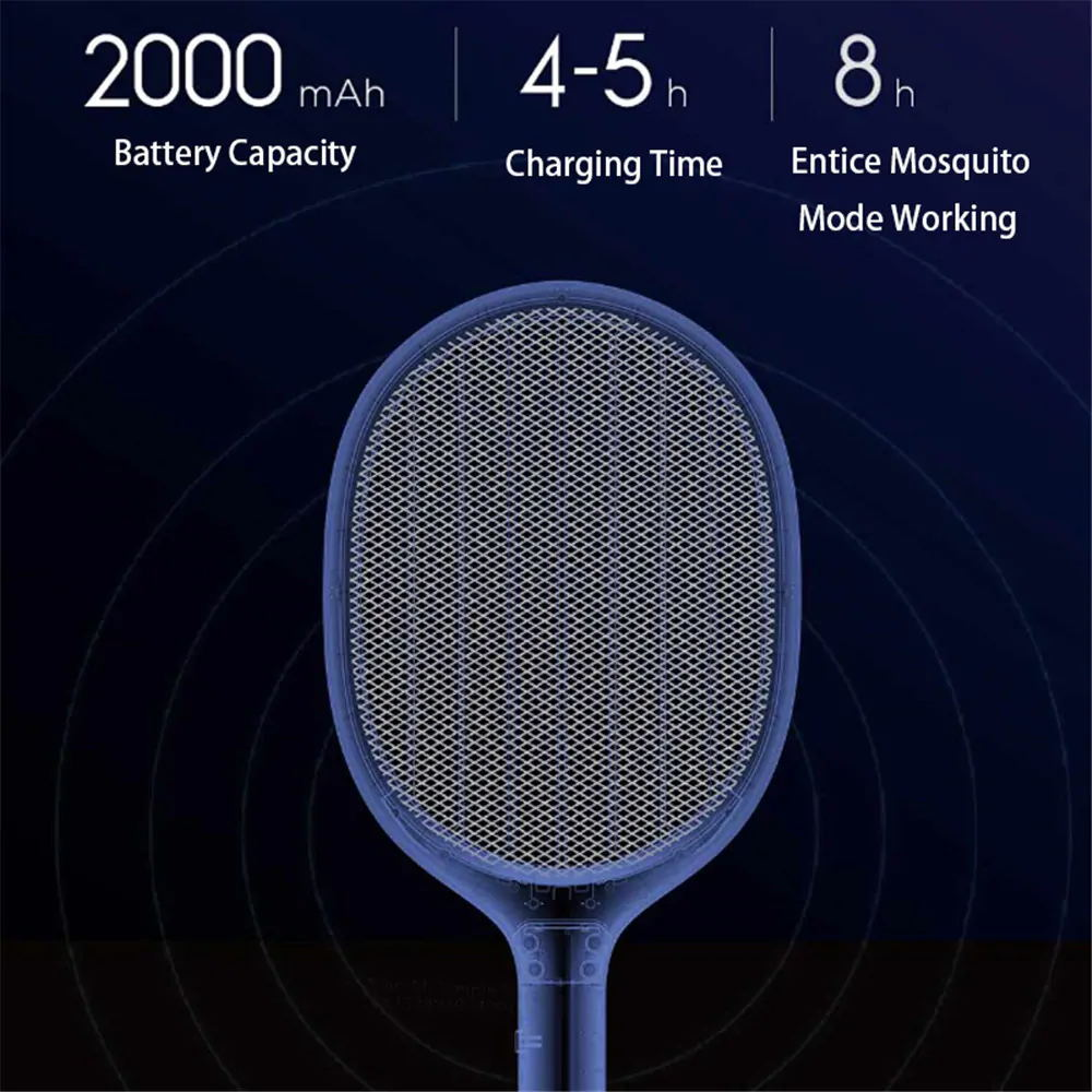 buy xiaomi mijia solove p1 electric mosquito swatter long use time