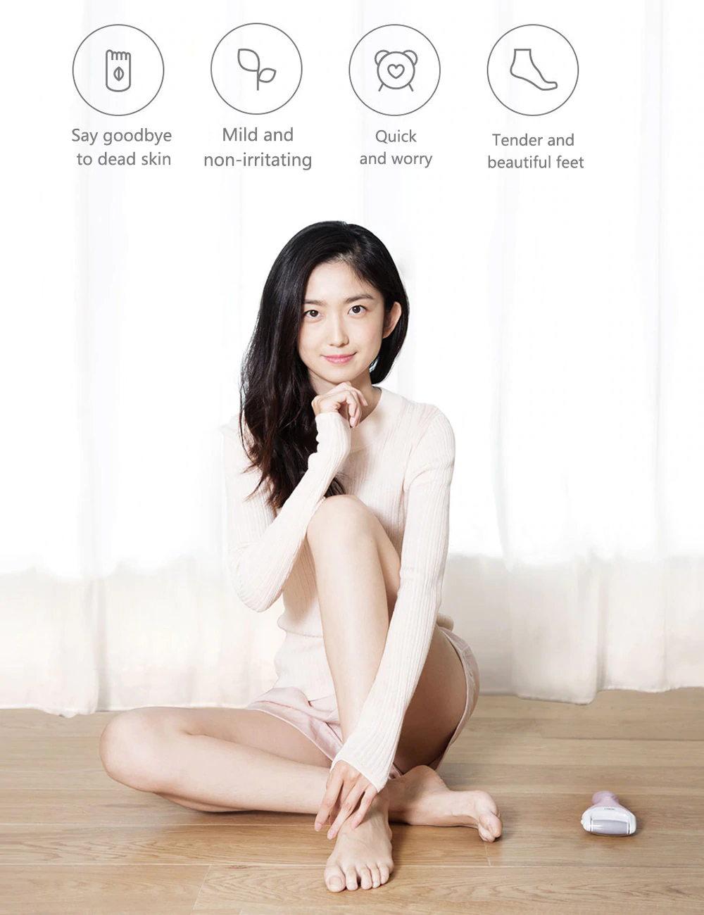 new xiaomi yueli electric foot file