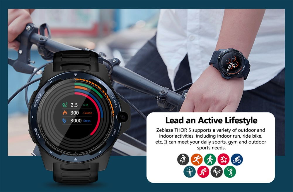 zeblaze thor 5 smartwatch review
